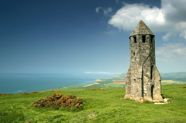 9. isle of wight (UK) The Pepper Pot, St Catherine's Down