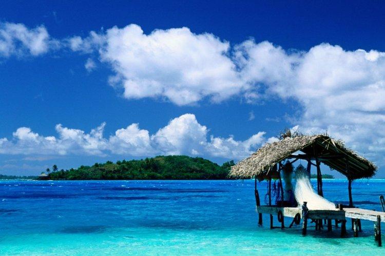 Hut in Bora Bora