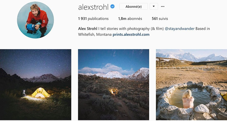 alex strohl instagram