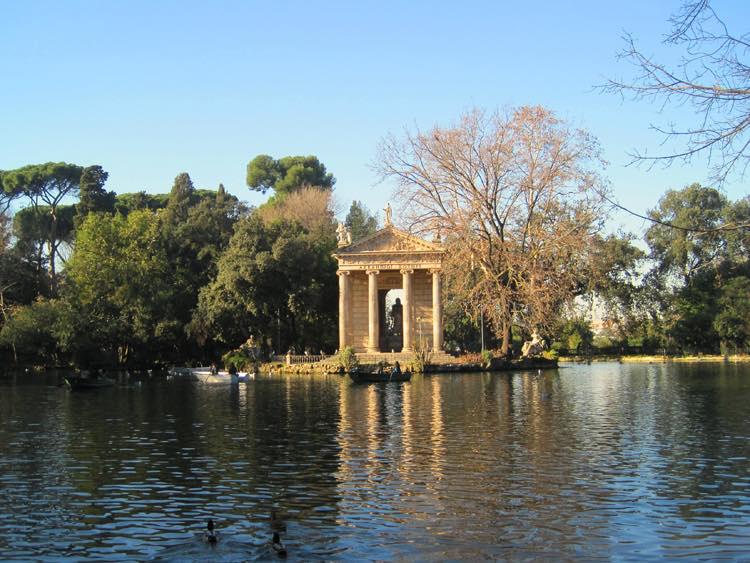 Parc Borghèse rome