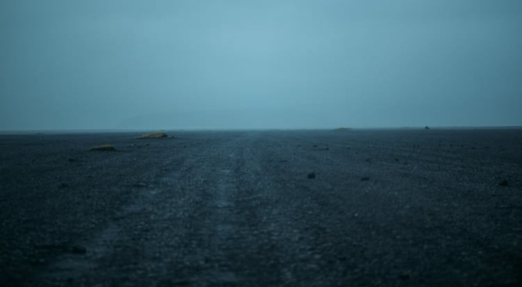 La route pour se rendre sur le lieu du crash est lunaire !