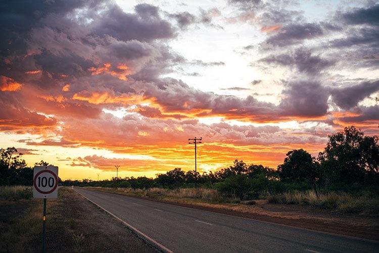 sunset-australie
