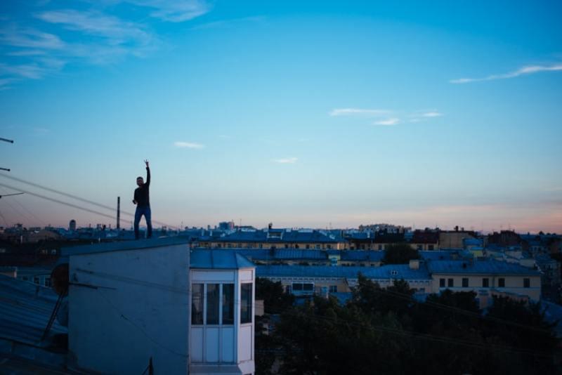 rooftops à saint petersbourg