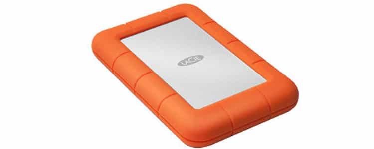 Indispensable pour les voyages: un disque dur externe résistant