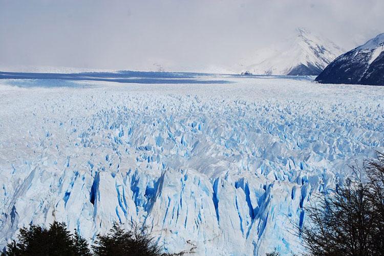 Le glacier de Perito Moreno en Argentine