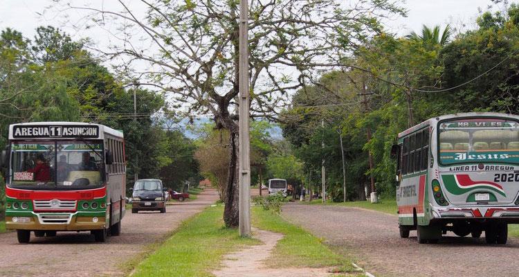 Les bus au Paraguay ont quelquechose de spécial - Vivre au Paraguay