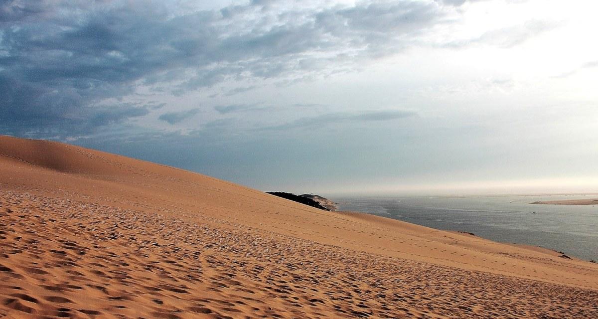 Dune du pilat au sud ouest de la France, lieux idéal pour un weekend nature