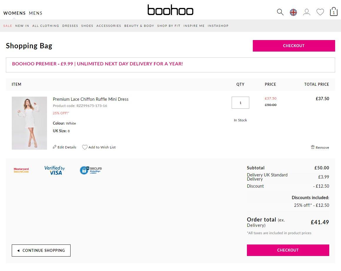 Boohoo Discount Codes Amp Voucher Codes