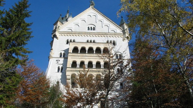 O mais fotografado dos Castelos da Alemanha