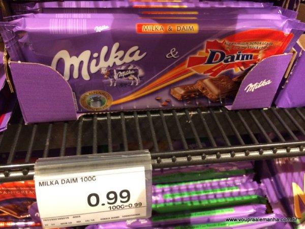 Chocolates alemães... uma pechinha aqui na Alemanha