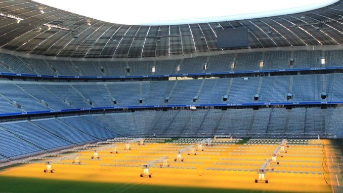 estádio do bayern de munique
