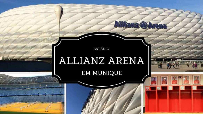 O que fazer em Munique - Allianz Arena, o estádio do Bayern