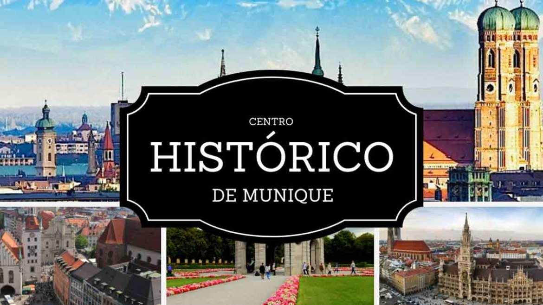 O que fazer em Munique - centro histórico de Munique