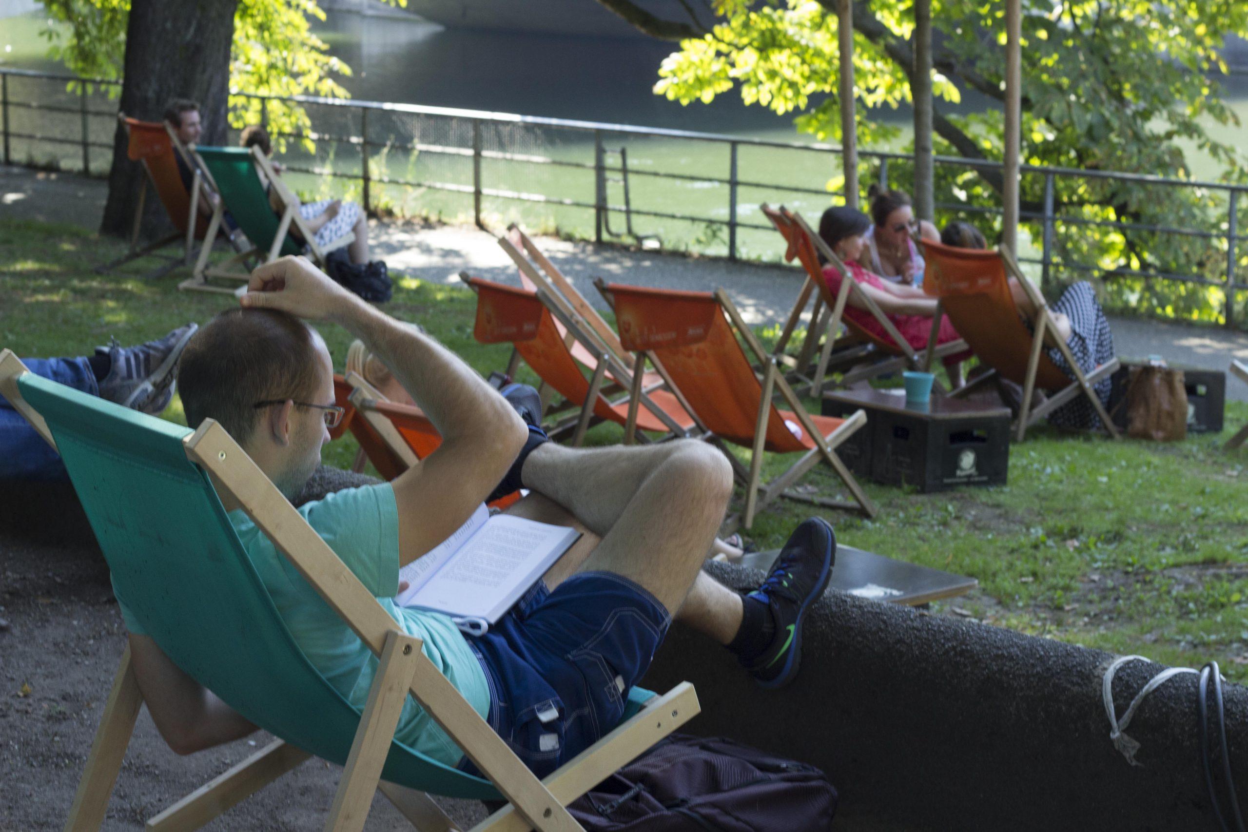 Lazer durante o verão em Munique