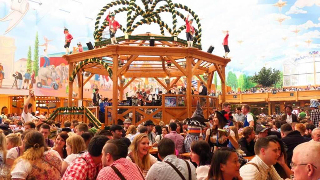 As músicas da Oktoberfest são contagiantes!