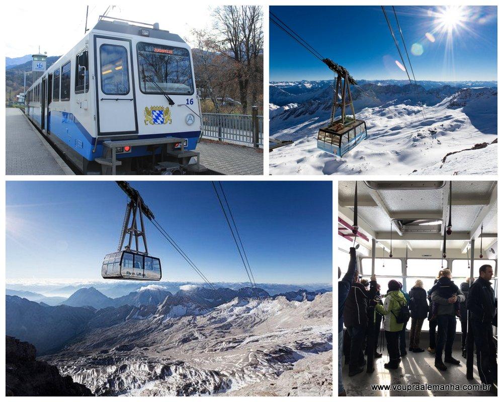 O Zugspitze tem um dos teleféricos mais modernos do mundo