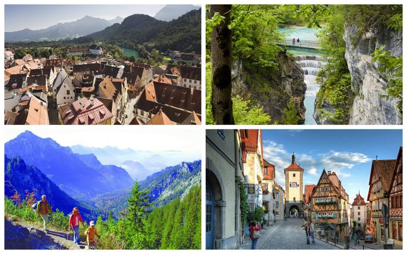 Montanhas, cidades medievais, castelos e muita beleza natural fazem parte da Rota Romântica