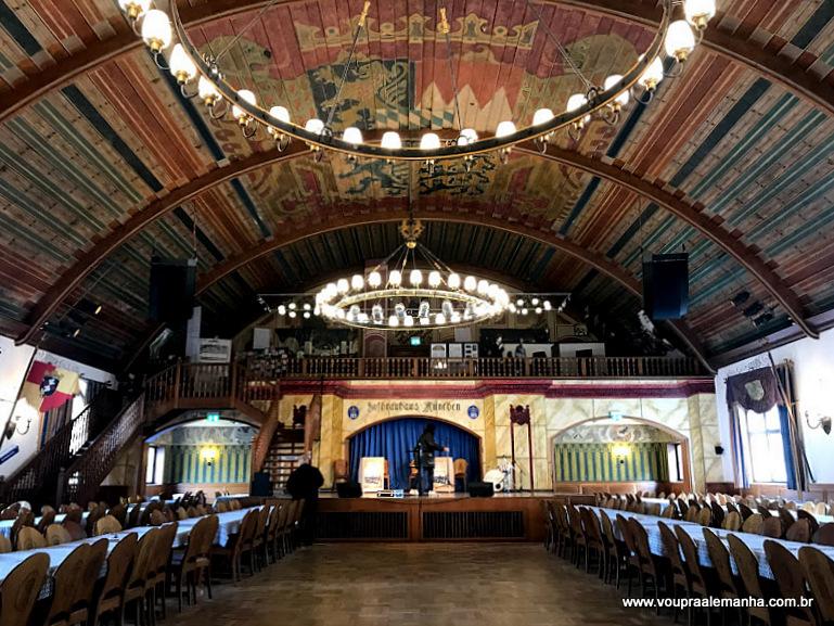Salão de festas da Hofbräuhaus