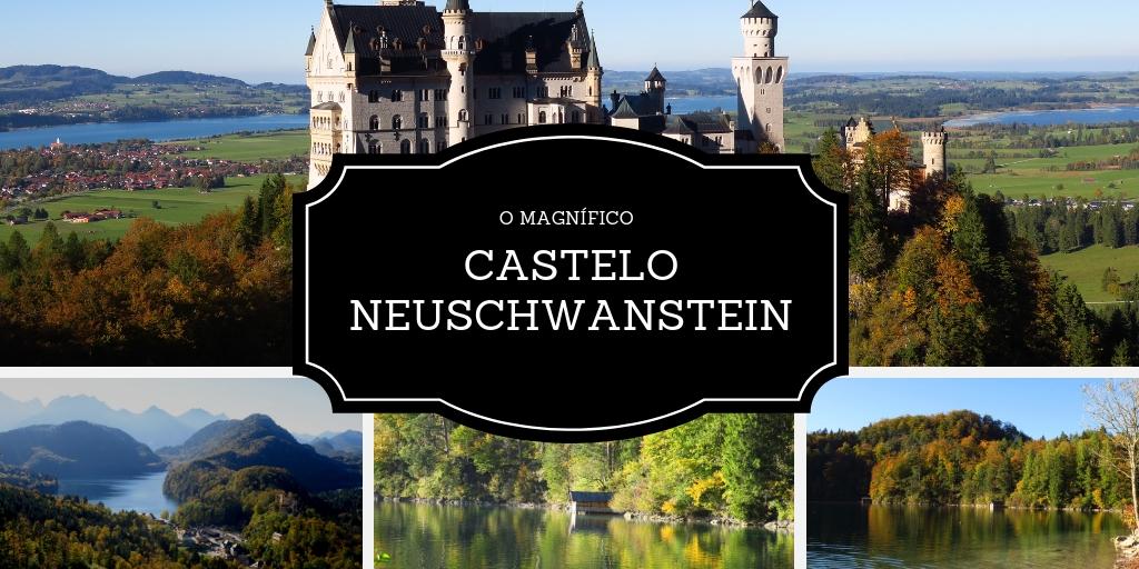 Castelo Neuschwanstein, nos arredores de Munique