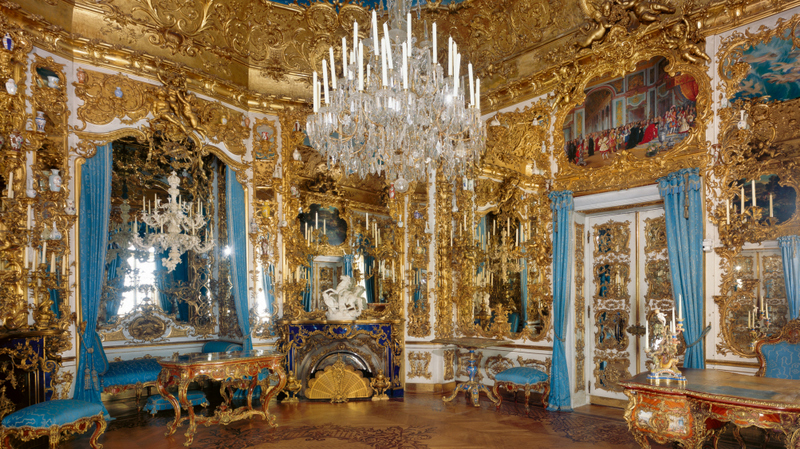 Salão dos Espelhos do Palácio Linderhof