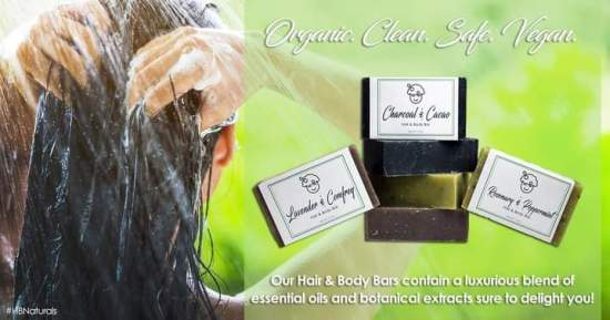 Organic Hair & Body Bars - HBNaturals
