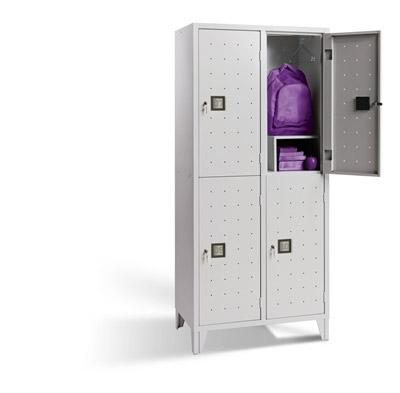 Vestiaire Metallique Multicases Quadri 2 Colonnes De 2 Cases