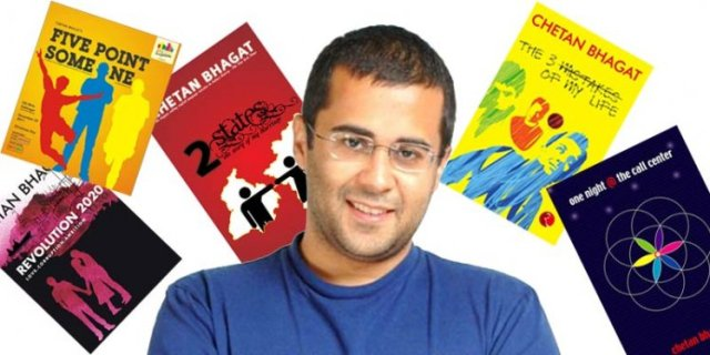 All Chetan Bhagat Books List and Latest Novels