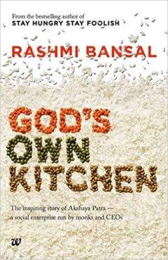 God's Own Kitchen by Rashmi Bansal Book Review, Buy Online
