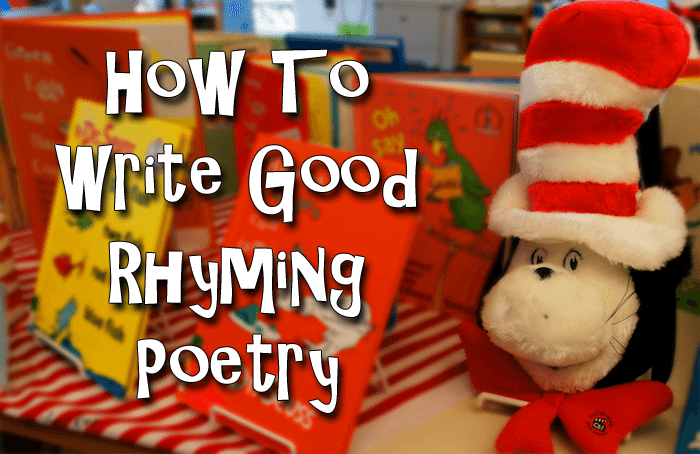 how to write good poetry 2006-4-17 a good vocabulary, gained through reading good poetry and prose, enhances poetic expression.