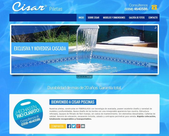 Cisar Piscinas