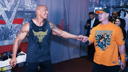 John Cena hopes to see the return of The Rock