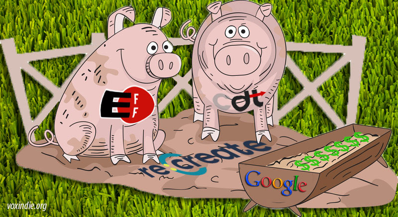 Anti-copyright Astroturf gangs, fertilized with tech cash, suddenly sprout