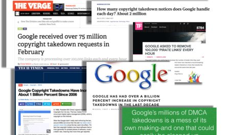 How Google could reduce its massive DMCA takedown numbers