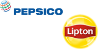 This is an image of the Pepsico and Lipton brand logos.