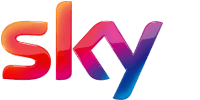 This is an image of the Sky brand logo.