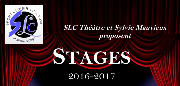 Stage théâtre enfants du samedi 8 octobre 2016