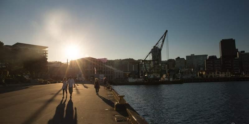 Port de Wellington - Nouvelle-Zélande