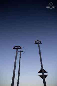 Oeuvre d'art - Port de Wellington
