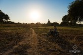 E-bike et Temple - Bagan