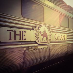 The Ghan - train - Australie