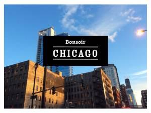 Arrivée à Chicago - Octobre 2015