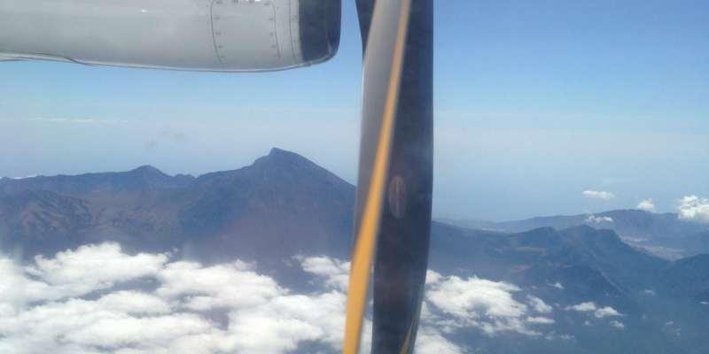 Vue d'avion - Indonésie
