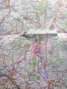 Carte de l'Oregon - Crater Lake