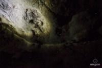 Deuxième grotte visitée avec Spellbound Glowworm and Cave Tours - vers luisants