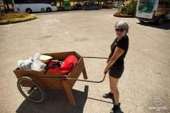 Dernier préparatifs pour le Kayak-Camping_Mumu _ Abel Tasman National Park