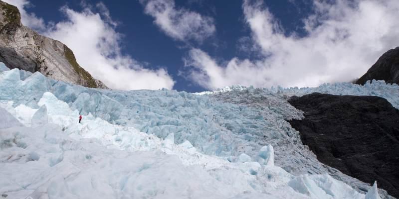 Guide au Glacier Franz Josef (photo Gagnante du concours photo Franz Josef Glacier Guides)