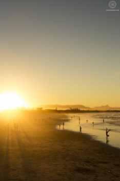 Plage - Sunset - Byron Bay - Australie