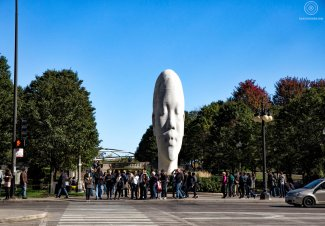 Sculpture de Jaume Plensa -Millenium Park - Chicago