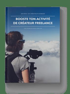 """Le guide gratuit """"Booster ton activité de créateur freelance"""""""