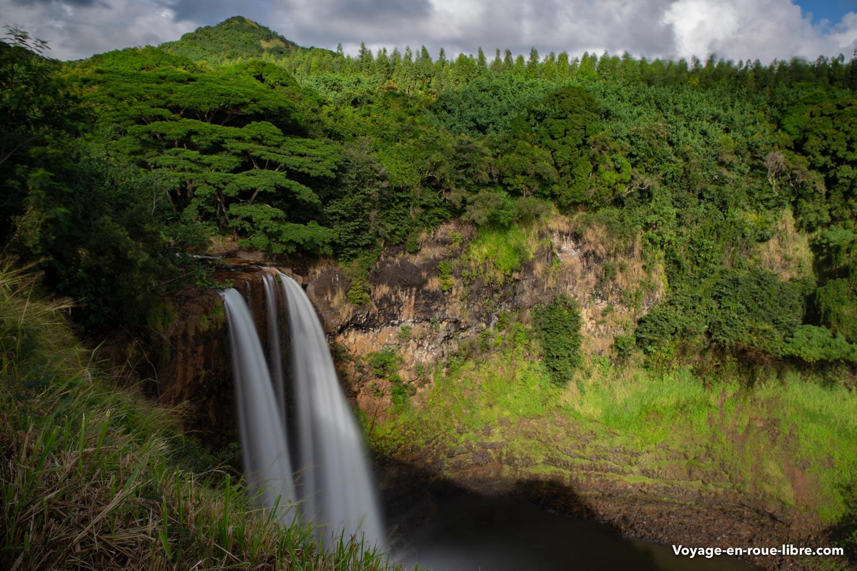 Chutes d'eau à Kauai